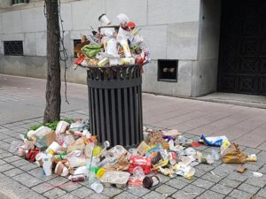 Canada Day Garbage