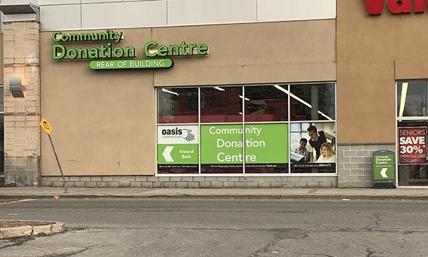 Donation Centre