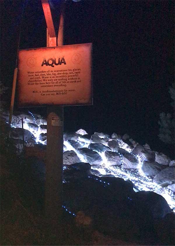 Path of Light Aqua